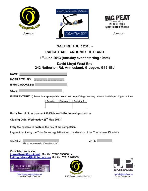 01 - DLWE Entry Form 2013
