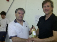 Handicap Tournament - Super Cup Winner Kev Reilly