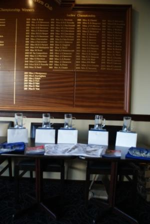RASTA Masters Feb '13 Whitecraigs LT&SC - Prizes