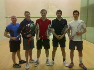 The Team - Little Sean, Captain Cantlay, me, Big Davie Craig & Ben Mazz (the real capt.)