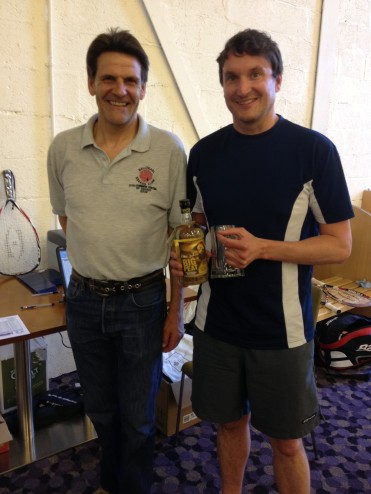 Racketball Second Division Winner - Richard