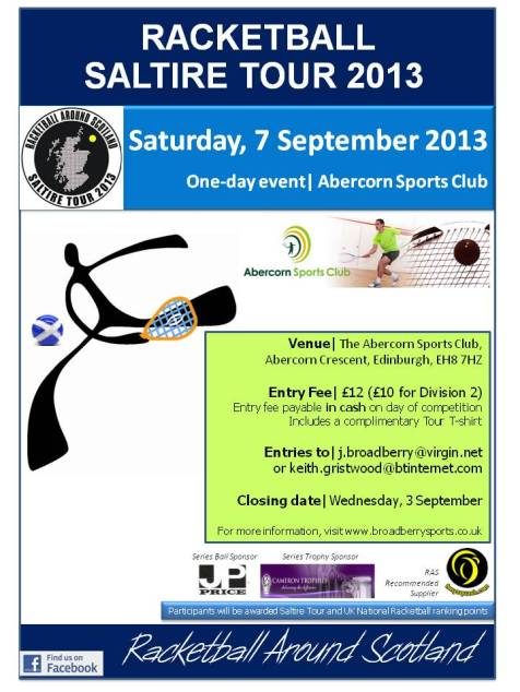 Racketball Tour - Abercorn