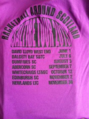 The 2013 Tour Tshirt