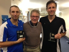 Over 40's West Squash Runner Up
