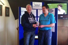 Over 45s winner - Ian Furlonger (RU Craig Pounder)