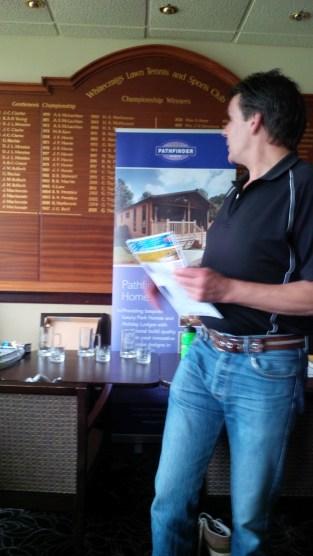 Pathfinder Holmes - new tour sponsor