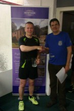 Championship winner Brian Cadenhead (DLR)