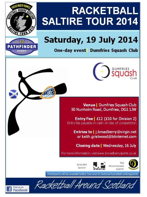 Racketball Tour - Dumfries 2014