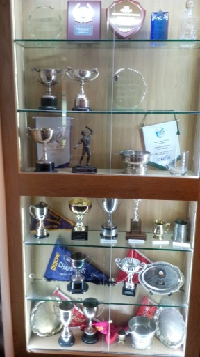 Dumfries trophy room