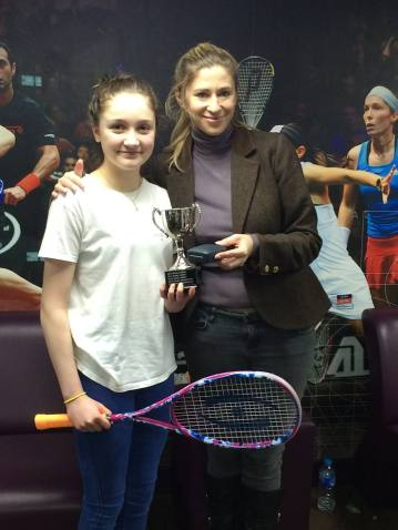 Orla Young U15 Scottish National Champ 2016