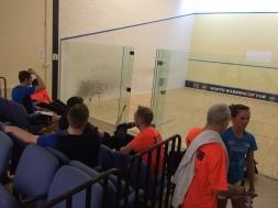 Orange men of squash!