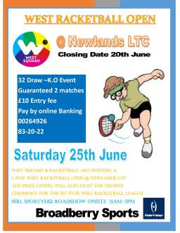 West Racketball open