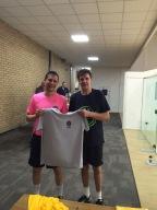 Runner-up Championship - Roberto (SSRC)