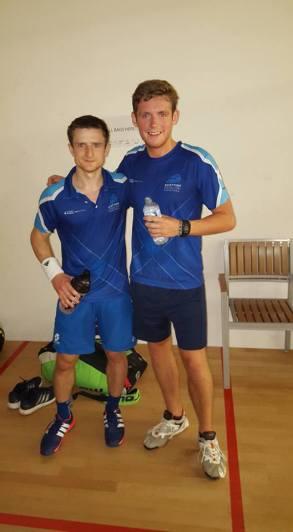 Greg & Alan World doubles Champs 2016 Harrow
