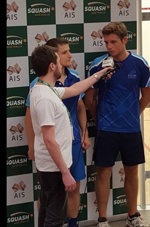 Greg & Alan World Doubles Champs 2016 Interview