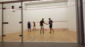 Greg & Alan World doubles Champs 2016 on Court
