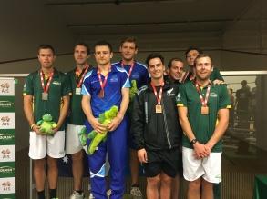 Greg & Alan World doubles Champs 2016