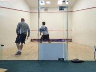 Sunday morning Racketball!