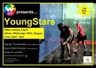 YOUNG STARS Poster- April 2017 Whitecraigs LT&SC