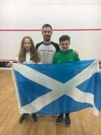 Anna Halliday & Kyle Penman U13s events