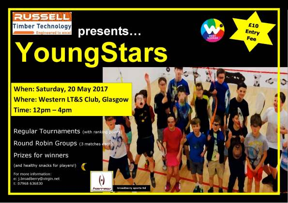YOUNG STARS Poster- May2017 - Western