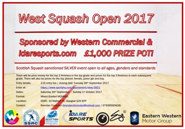 West Squash Open 2017