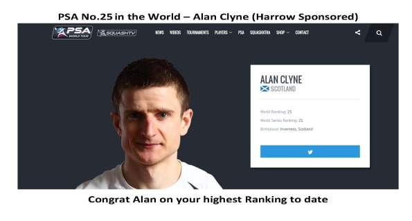 Alan Clyne No 25