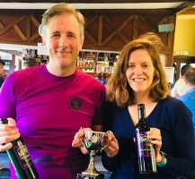 Ladies and Men's Open Winners (Ashley & Jason)