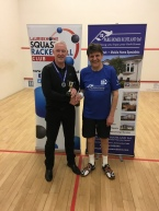 O50s Winner Ian Furlonger