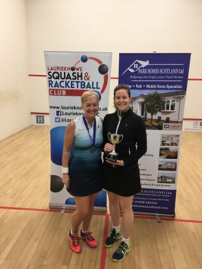 Open Winner Ashley Mears (R-up Sue Strachan)